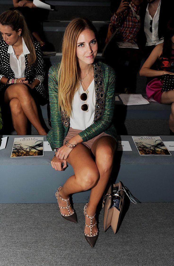 Chiara Ferragni at NYFW S/S 2013.
