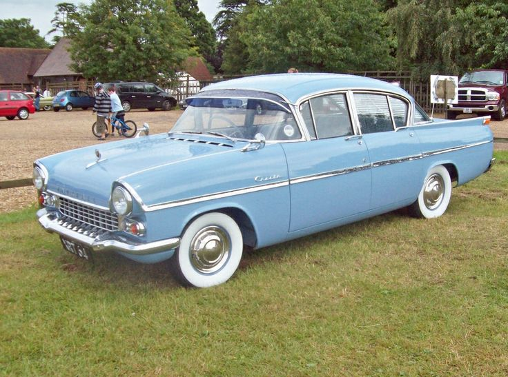 1958 Vauxhall Cresta brother and i bought one at auction for $1.00 gave it to school for smash and bash (fundraiser) things we do...