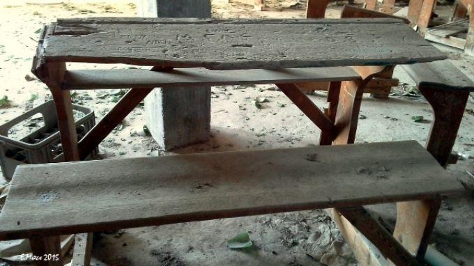 Ήταν μια φορά κι έναν καιρό, ένα θρανίο! ___________________ Της Ελένης Μπετεινάκη #education #school #view #memories http://fractalart.gr/thranio/