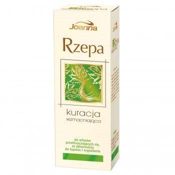 Kuracja wzmacniająca Rzepa to 100 ml dobroczynnego dla Twoich włosów eliksiru. Kosmetyk zawiera wyciągi z czarnej rzepy, cyprysu oraz rozmarynu i pirytonian cynku.