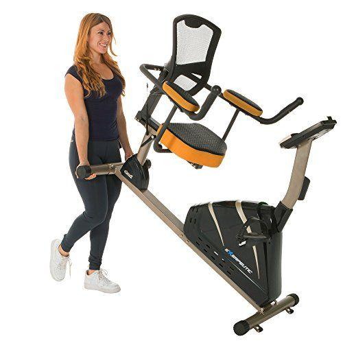 Exerpeutic 4000 Magnetic Recumbent Bike With 12 Workout Programs Bike Exercise Bikes Workout Programs