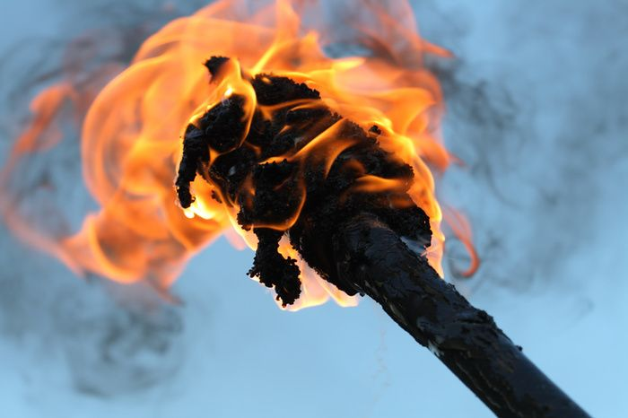 Survival Skills: How To Make A Torch #Prepper