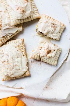 Now autumn is here we can celebrate all things pumpkin. Try this vegan Pumpkin Pie Pop Tart with Chai Cream Cheese Frosting Recipe for a spice overload!