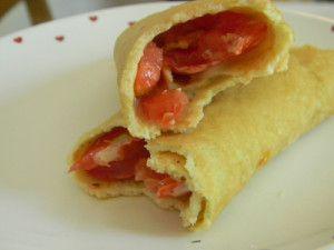 Tomato Dill Sandwich Wraps