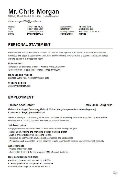 aamc resume templates
