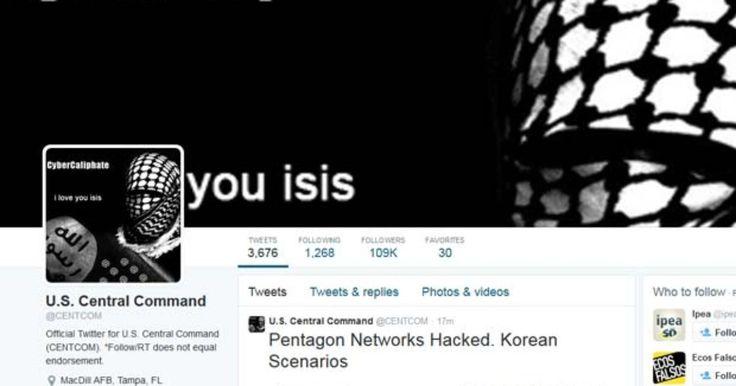 Twitter de comando militar dos EUA é hackeado