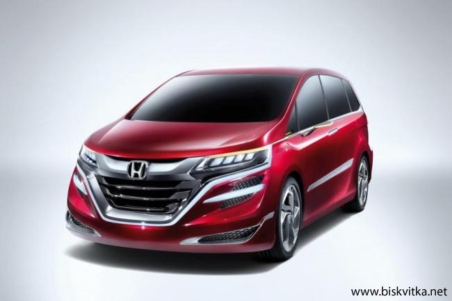 Honda Concept M Minivan » Biskvitka.net