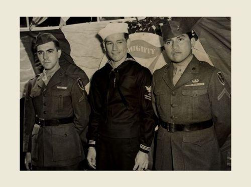 1945-Iwo-Jima-Flag-Raising-PHOTO-Group-Ira-Hayes-Gagnon-Bradley-US-Marine-Heroes