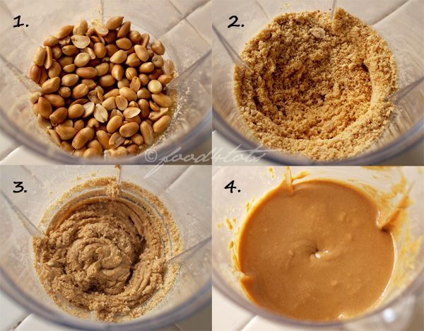 Homemade Peanut Butter - Step By Step