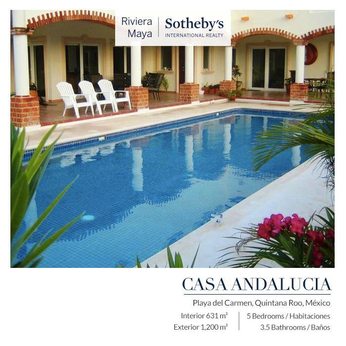 Casa Andalucía   Playa del Carmen INFO: alopez@sirmexico.com