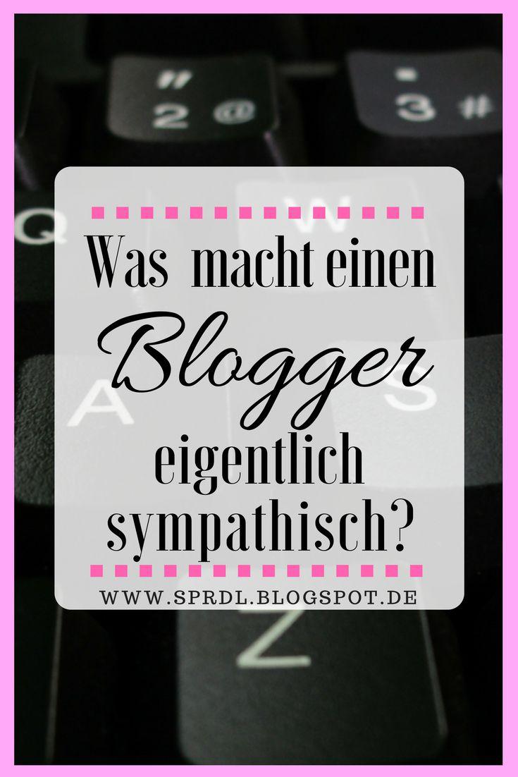 Was macht eigentlich einen Blogger sympathisch?