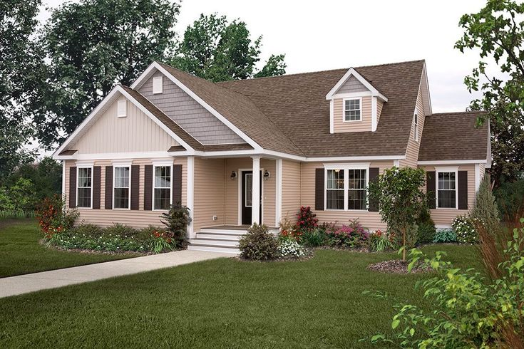 New Era Building Systems Modular Ranch Home in PA New
