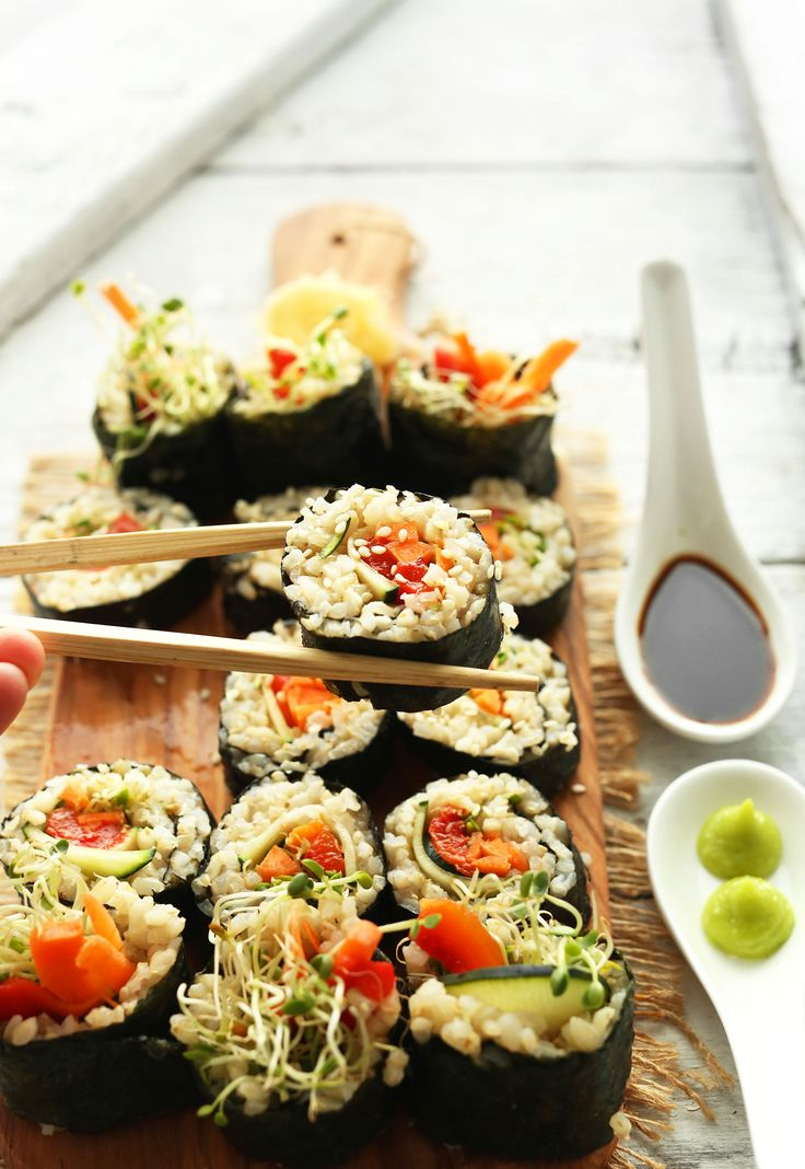 1000+ ideas about Brown Rice Sushi on Pinterest | Sushi ...