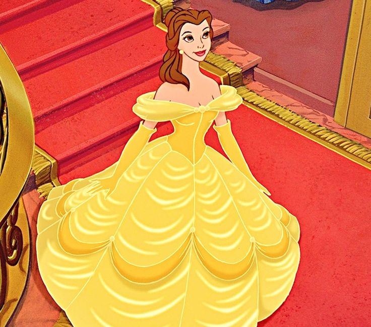 ... Belle Gown/wedding dress | Pinterest | Belle, Disney and Yellow Dress Beauty And The Beast Belle Pink Dress