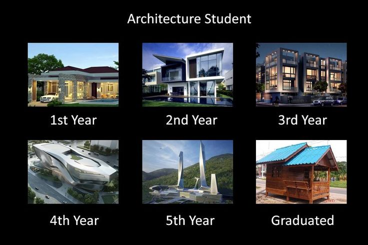 a joke about architecture students from trust me i 39 m an