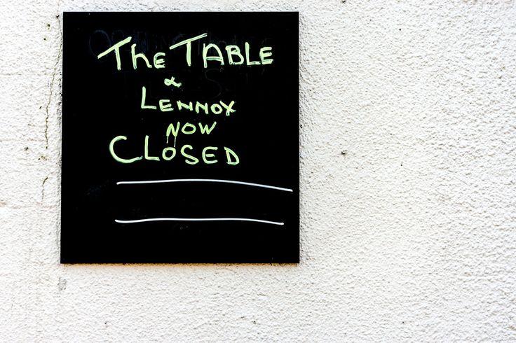 LENNOX AND THE TABLE RESTAURANT IN PORTOBELLO [CLOSED] REF-101438