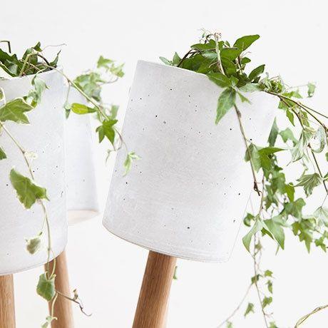Indoor Garden Planters   White By URBANATURE | MONOQI