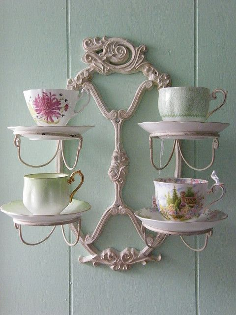 A bit over the top for my own house, but would be lovely in a tea room. :)