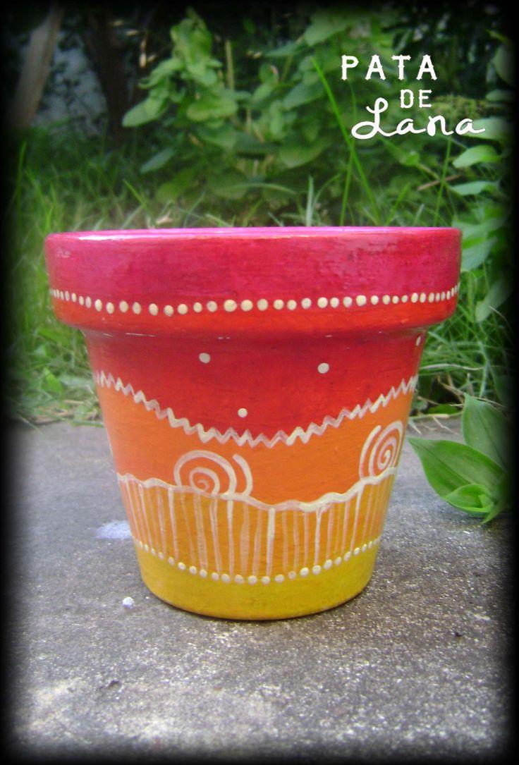The 216 best Flower pots images on Pinterest | Flower pots, Plant ...
