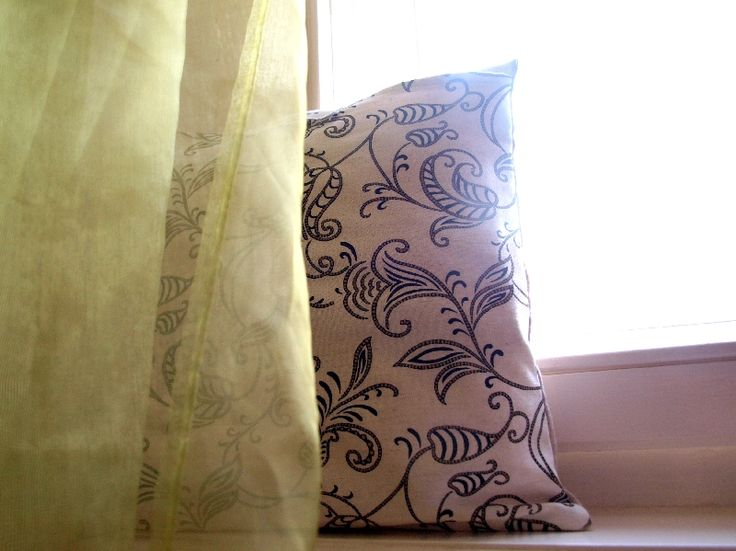 Líné polštářky - snadný návod na povlak. / Pillowcase tutorial