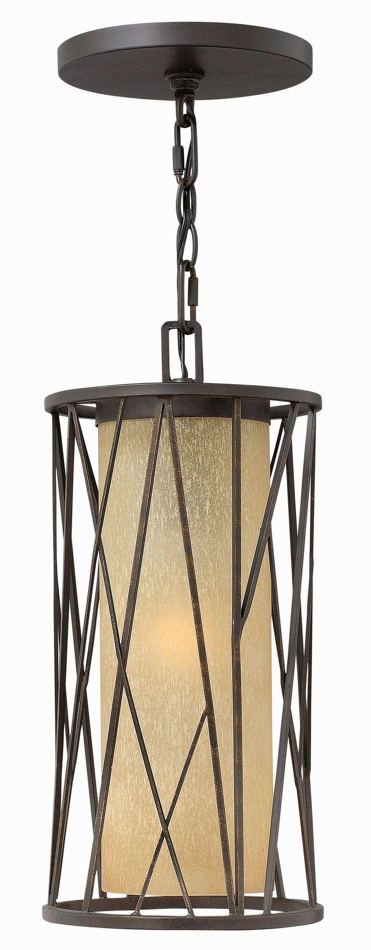 "CanadaLightingExperts | Elm - 17.5"" 15W 1 LED Outdoor Hanging Lantern"