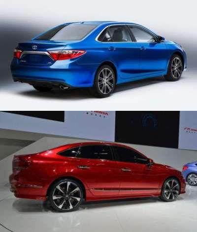 2016 Camry vs Accord - http://toyotacars2016.com/2016-toyota-camry-vs-2016-honda-accord-price-comparison/