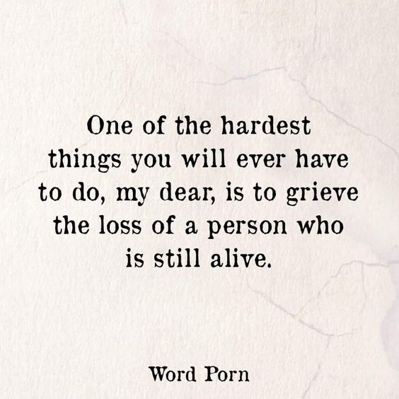 One of the hardest things.