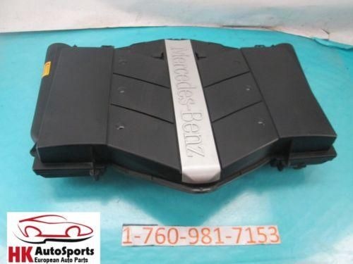 MERCEDES BENZ C230 C240 C320 CL500 G500 R500 ENGINE AIR CLEANER BOX ASSEMBLY OEM