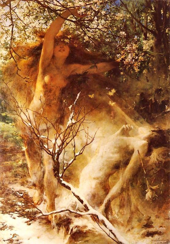 Witold Pruszkowski  - Wiosna, 1887