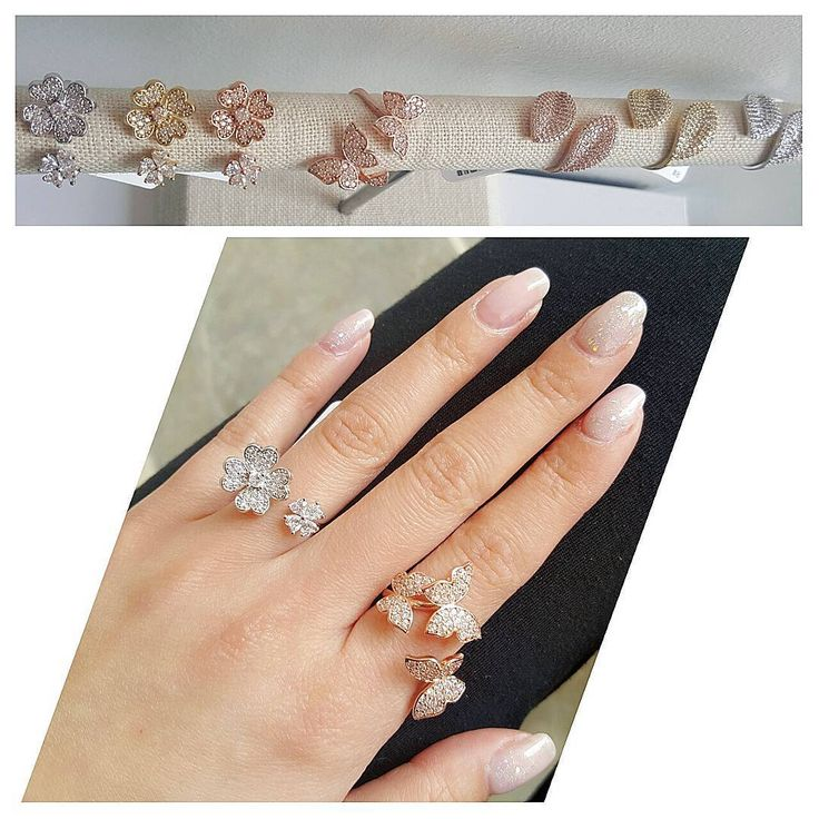 🌹 She Can't Pick Just One👯DM us for shipping or shop in store  #ButterflyLove #shopARTEMIS #rings