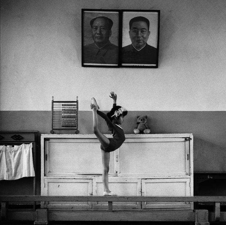Albert Watson - I was particularly drawn to this photo because of the photos on the wall and how the Chinese people worship their Chairmen and always have.  Even form  a young age, this this ballerina, the Chairman is never far away and I feel this photo really represents that.