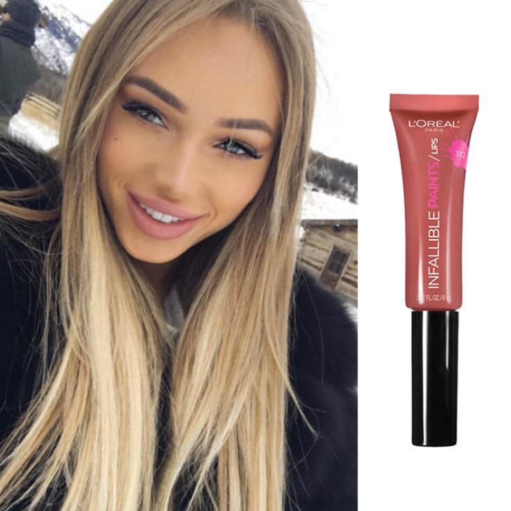 L'Oréal Infallible Lip Paints in Spicy Blush gives pricier lip products a run for their money.