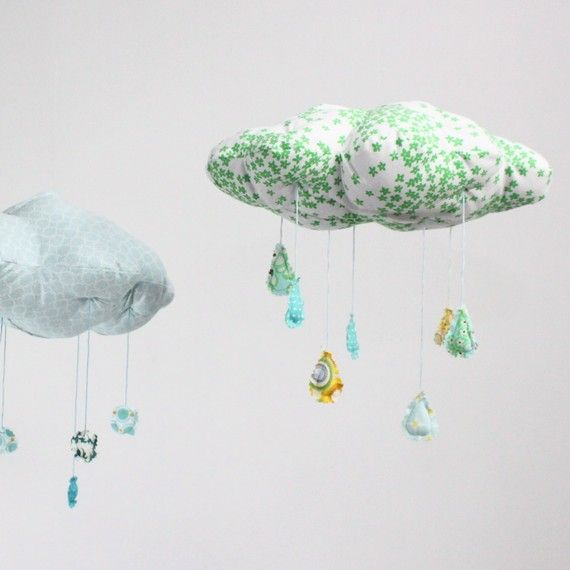 cloudy mobiles..