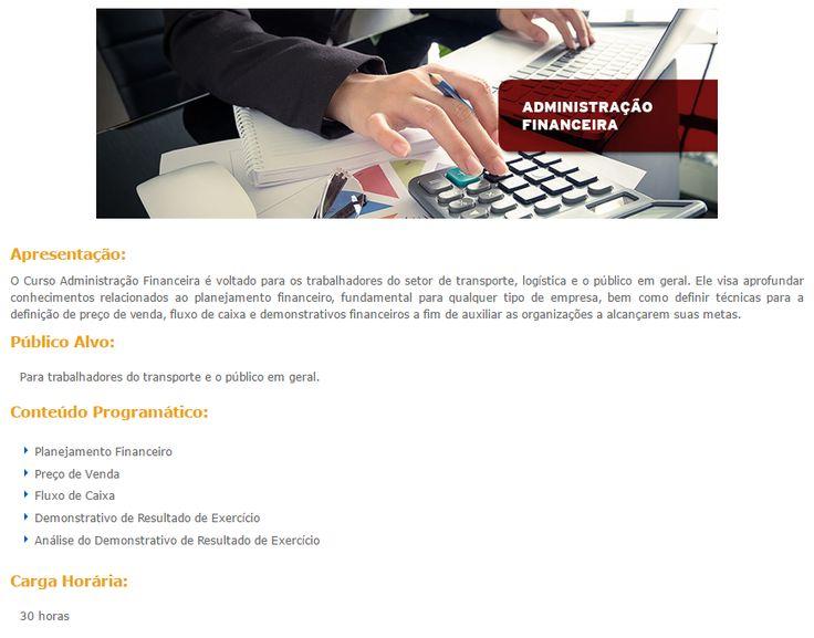 Curso Online Gratuito de Administração Financeira