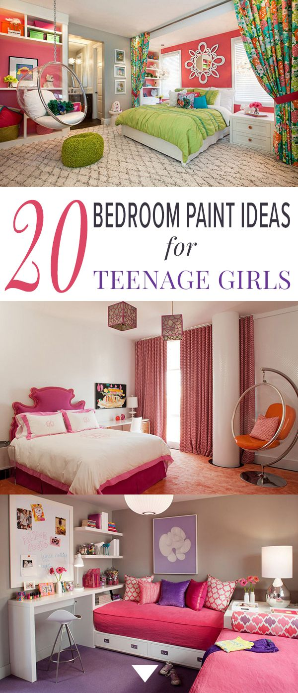 Paint colors for adult bedrooms - 20 Bedroom Paint Ideas For Teenage Girls