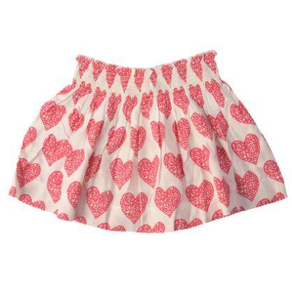 Little Wings Big Heart shirred skirt