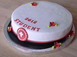 Leneskage.dk: Studenterhue kage