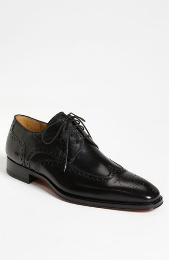 Free shipping and returns on Magnanni 'Sergio' Wingtip Oxford (Men) at Nordstrom.com. Classic brogue styling defines a timeless wingtip oxford shaped from hand-antiqued calfskin leather. Genuine Bologna construction ensures long-lasting comfort.