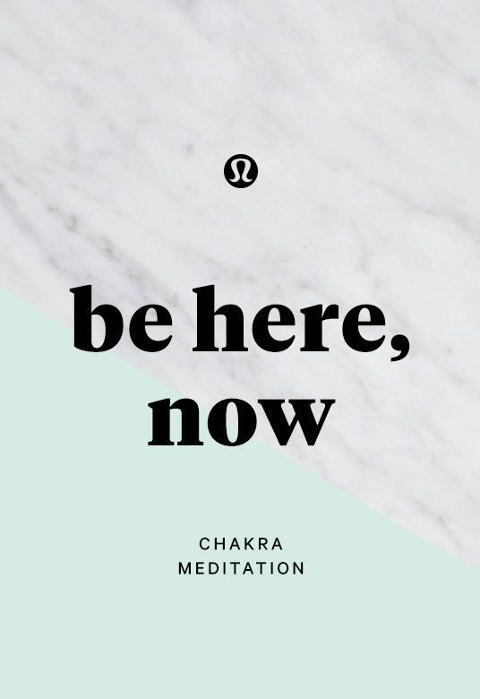 Awaken your potential: presence. Chakra meditation series.