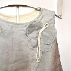 Giacca/tunica bimba grigio perla cangiante