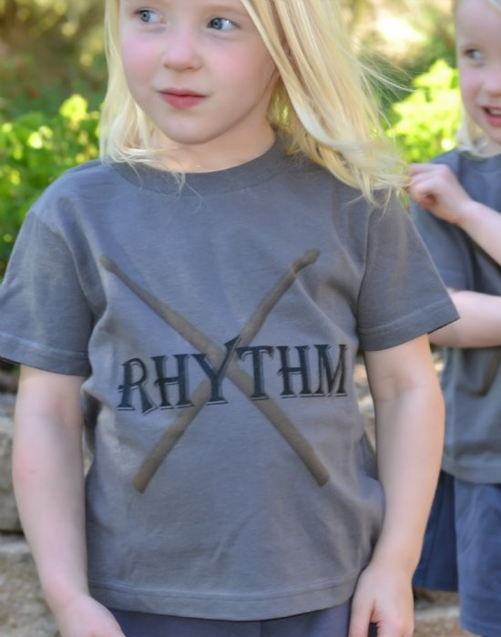 Gemellini Rhythm & Beats tee exclusively available at A Little Bit of Cheek