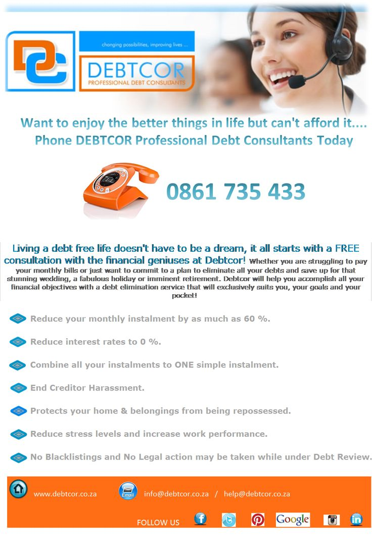 Not Coping With Your Debt....?  Call us Today!