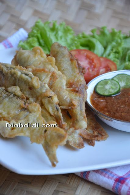 Diah Didi's Kitchen: Ikan Pindang Bandeng Kemul ( Goreng Tepung ) #IndonesianFood #Indonesia