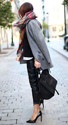grey & black #streetsyle