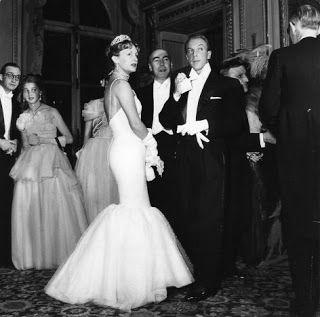 Jacques Fath and his wife, Geneviève Boucher de la Bruyère