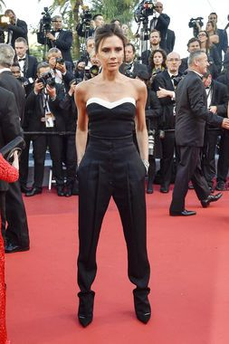Victoria Beckham at the 2016 Cannes Film Festival. If someone had to define classy casual -- this would totally be it.