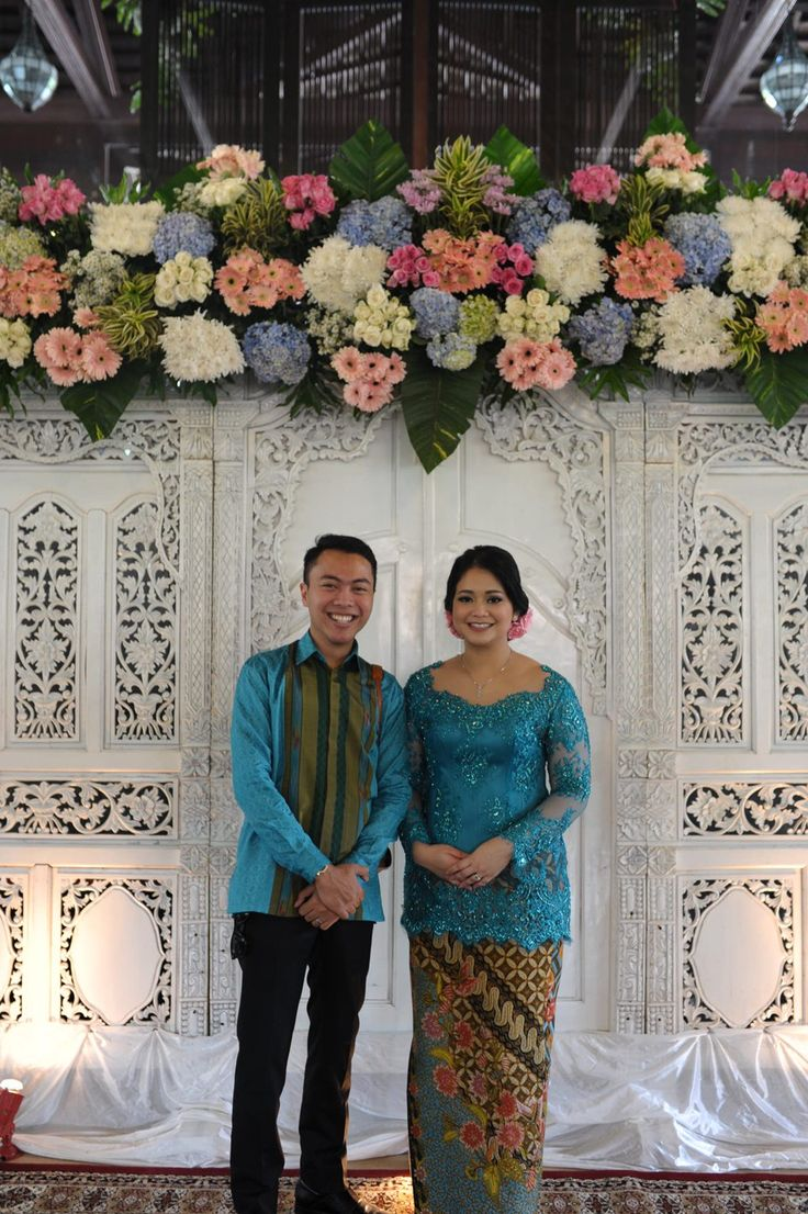 Blue and White Engagement at Rumah Ranadi - 1402a