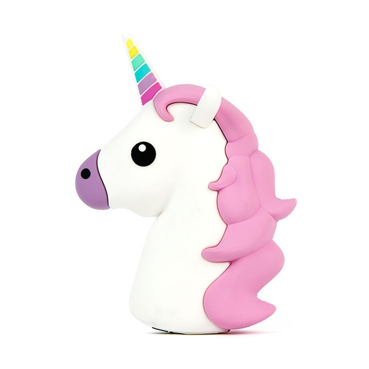 Unicorn Emoji Portable Charger