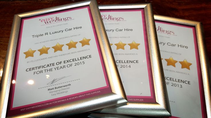 Thanks to the team at Easy Weddings for awarding us our 5 Star rating for 2015. We are proud to have this framed certificate on display at our showroom for all our brides and grooms to see. A BIG thank you to the 144 lovely brides who have left reviews for us over all these years and have helped us to achieve this 5-Star rating for the 3rd time running. We hope to reach 200+ 5-Star reviews by next year....wish us luck. #EasyWeddings 