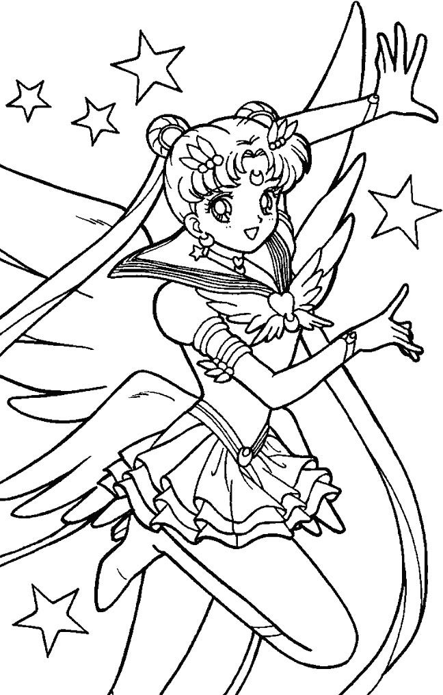 man moon coloring pages - photo#26